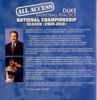 (Rental)-All Access: Duke National Champs (2009-2010)