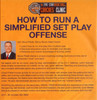 (Rental)-How To Run A Simplified Set Play Offense