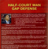 (Rental)-Half Court Man Gap Defense