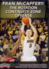 Rotation Continuity Zone Offense by Fran McCaffery Instructional Basketball Coaching Video