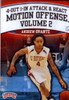 Attack & React Motion Offense Volume 2 by Andrew Grantz Instructional Basketball Coaching Video