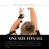 One size fits all basketball shooting aid