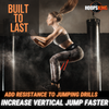 vertical jump plyo box drills resistance bands