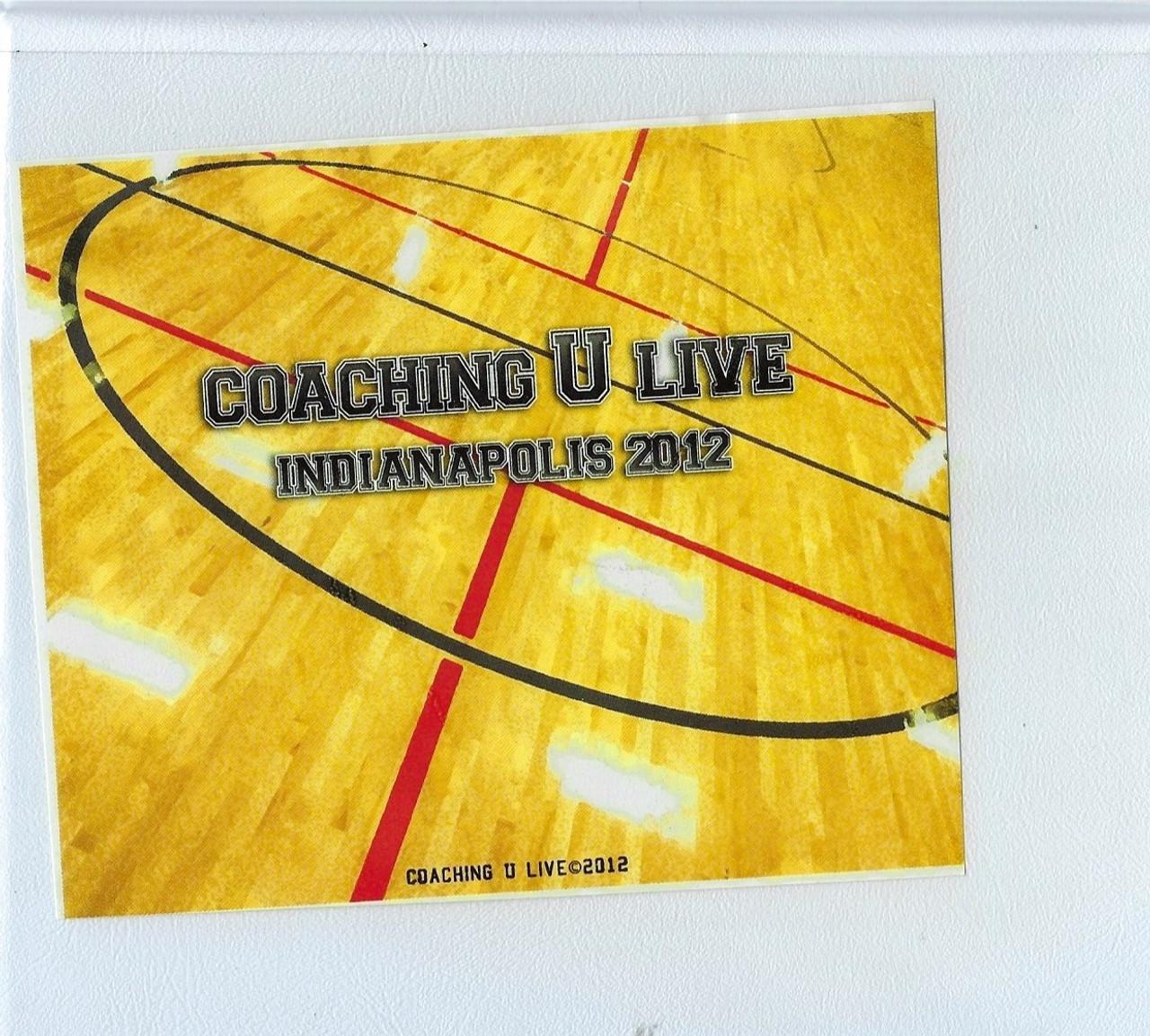 (Rental)-Coaching U Live Indianapolis 2012 11 Dvd Set