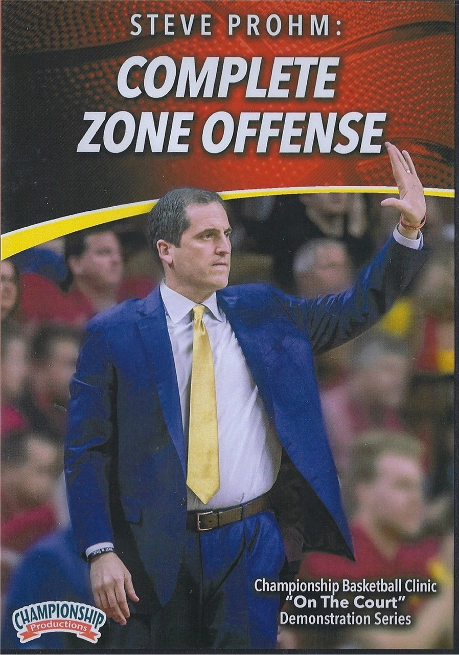 Complete Zone Offense with Steve Prohm by Steve Prohm Instructional  Basketball Coaching Video 9332481c5