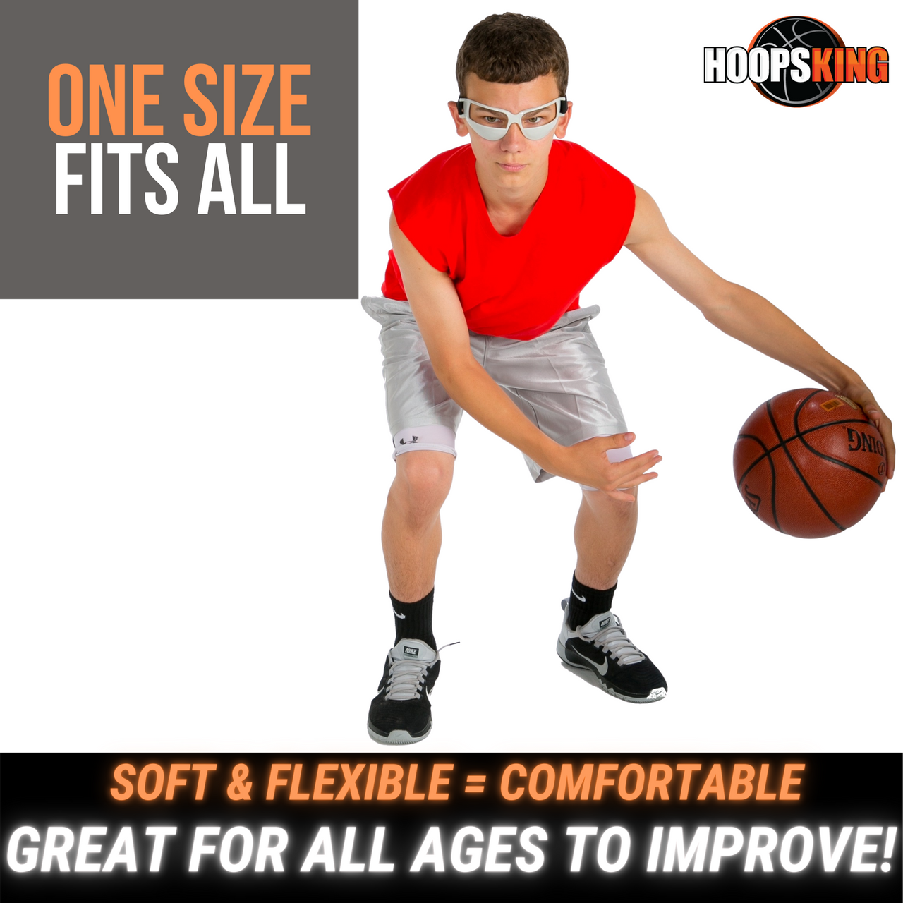 5 Pack Heads Up Basketball Dribbling Specs Goggles Glasses Training Supplies Fun