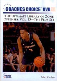 Zone Offense: The Plus Set by John Kimble Instructional Basketball Coaching Video