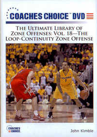 Loop Continuity Zone Offense by John Kimble Instructional Basketball Coaching Video