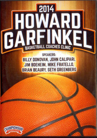 2014 Howard Garfinkel Basketball Coaches Clinic by Howard Garfinkel Instructional Basketball Coaching Video