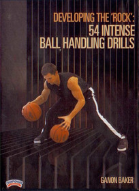 "Developing The ""rock"" In Your Game: 54 Intense by Ganon Baker Instructional Basketball Coaching Video"