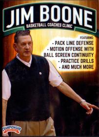 Jim Boone Basketball Coaches Clinic by Jim Boone Instructional Basketball Coaching Video