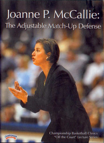 Joanne P. Mccallie: The Adjustable Match--up by Joanne McCallie Instructional Basketball Coaching Video
