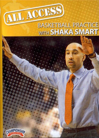 All Access: Shaka Smart by Shaka Smart Instructional Basketball Coaching Video