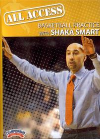 All Access: Shaka Smart by Shaka Smart Instructional Basketball Coaching Video