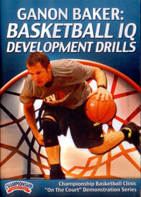 Basketball Iq Development Drills by Ganon Baker Instructional Basketball Coaching Video