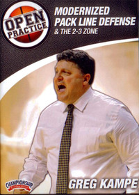 Modernized Pack Line Defense & The 2-3 Zone by Greg Kampe Instructional Basketball Coaching Video