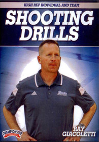 High Rep Individual and Team Shooting Drills by Ray Giacoletti Instructional Basketball Coaching Video