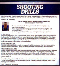 (Rental)-High Rep Individual and Team Shooting Drills