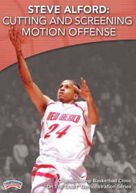 Cutting And Screening Motion Offense by Steve Alford Instructional Basketball Coaching Video