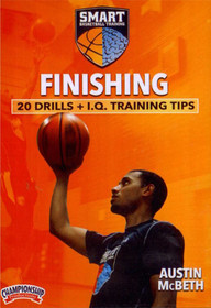 Smart Basketball Training Finishing Drills by Austin McBeth Instructional Basketball Coaching Video