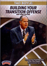 Building Your Transition Offense by Tad Boyle Instructional Basketball Coaching Video