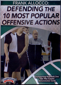 Defending The 10 Most Popular Offensive Actions by Frank Allocco Instructional Basketball Coaching Video