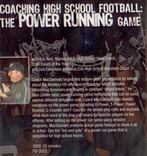 (Rental)-COACHING HIGH SCHOOL FOOTBALL: THE POWER RUNNING GAME