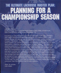 (Rental)-Ultimate Lacrosse Master Plan: Planning Championship Season