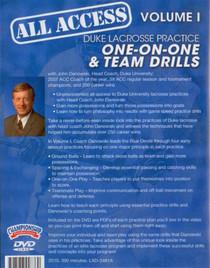 (Rental)-All Access Vol. 1 Duke Lacrosse Practice
