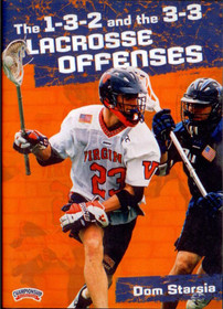 1-3-2 and the 3-3 Lacrosse Offenses by Dominic Starsia Instructional Basketball Coaching Video