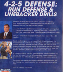 (Rental)-4-2-5 DEFENSE: RUN DEFENSE & LINEBACKER DRILLS