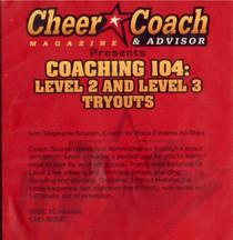 (Rental)-Cheer  Coach Magazine: Coaching 104: Level 2 & 3 Tryouts