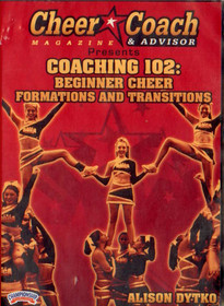 Cheer  Coach Magazine: Coaching 102: Beginner Formations by Alison Dytko Instructional Cheerleading Coaching Video