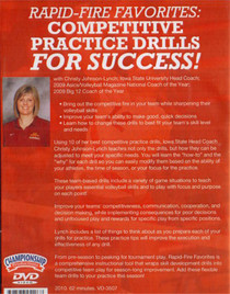 (Rental)-RAPID-FIRE FAVORITES: COMPETITIVE PRACTICE DRILLS FOR SUCCESS
