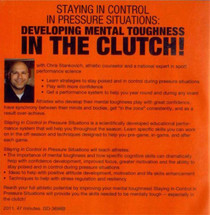 (Rental)-Maintaining Control In Pressure Situations: Developing Mental Toughness In The Clutch! (stankovich)