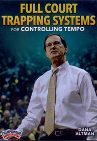 Full Court Trapping Systems For Controlling Tempo by Dana Altman Instructional Basketball Coaching Video