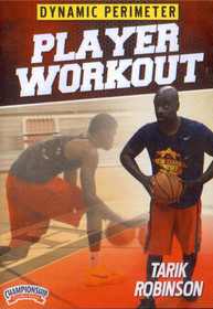 Dynamic Perimeter Player Workout by Tarik Robinson Instructional Basketball Coaching Video
