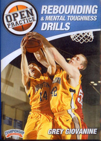 Rebounding & Mental Toughness Drills by Grey Giovanine Instructional Basketball Coaching Video