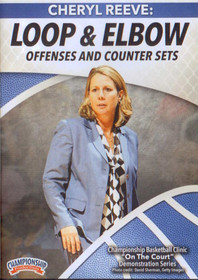 Loop & Elbow Offenses And Counter Sets by Cheryl Reeve Instructional Basketball Coaching Video