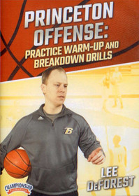Princeton Offense: Practice Warmup & Breakdown Drills by Lee Deforest Instructional Basketball Coaching Video