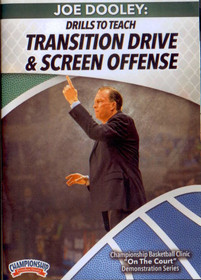 Drills To Teach Transition Drive & Screen Offense Instructional Basketball Coaching Video
