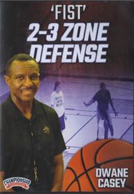 Fist 2-3 Zone Defense by Dwane Casey Instructional Basketball Coaching Video