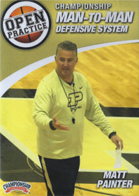 Championship Man To Man Defense by Matt Painter Instructional Basketball Coaching Video