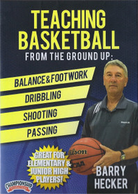 Teaching Basketball From The Ground Up by Barry Hecker Instructional Basketball Coaching Video