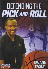 Defendind The Pick & Roll by Dwane Casey Instructional Basketball Coaching Video
