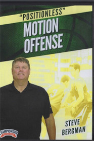 Positionless Motion Offense by Steve Bergman Instructional Basketball Coaching Video