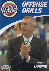 Offense Drills by Greg Lansing Instructional Basketball Coaching Video
