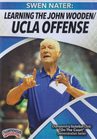 Learning The John Wooden Ucla Offense by Swen Nater Instructional Basketball Coaching Video