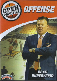 Open Practice Brad Underwood Offense by Brad Underwood Instructional Basketball Coaching Video