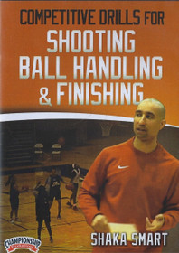 Competitive Drills For Shooting, Ball Handling, & Finishing by Shaka Smart Instructional Basketball Coaching Video